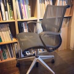椅子 /いす/hermanmiller/ハーマンミラー/セトゥーチェア/setuchair/... 仕事用の椅子が届きました!  余計な機能…