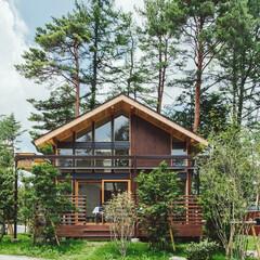 コテージ/不動産・住宅/週末住宅/別荘/木造/外観/... キャンプ場内のコテージです。 PICA …
