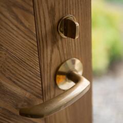 ドアノブ/ドア/木製ドア/真鍮/新築/不動産・住宅/... ドアノブ