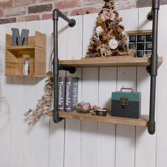 木の実/ツリー/フォロー大歓迎/冬/DIY/100均/... 去年のクリスマスアイデアで投稿したクリス…