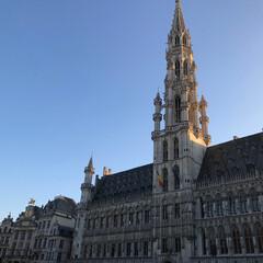 旅行/海外旅行/ベルギー旅行/グランプラス/ブリュッセル/世界遺産/... ベルギーブリュッセルにある世界遺産のグラ…