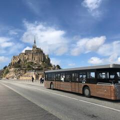 旅行/旅/フランス/フランス旅行/モンサンミッシェル/女子旅/... フランス旅行ではじめて訪れたモンサンミッ…