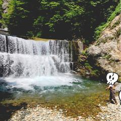 川遊び/釣り/アウトドア/おでかけ 今日は、朝から川へlet's go💨 子…
