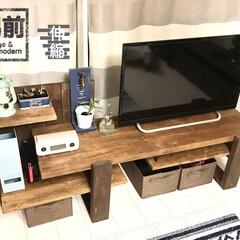 男前/SPF/テレビ台/テレビボード/収納/ヴィンテージ/... 男前テレビボードの試作品