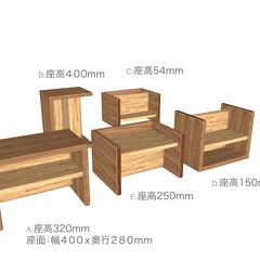 こども/キッズ/テーブル/チェア/椅子/ミニテーブル/... リピーターのお客様のご要望で、こども用の…(1枚目)