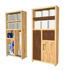 トイレ収納/棚/SPF 再アップします。収納イメージしやすいよう…