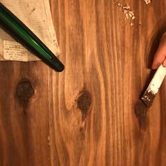 木工技術/DIY 節穴処理。 試行錯誤で色々と経験しました…
