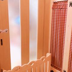 カントリーパーテーション/ペットフェンス/カントリー家具/家具 お願いしてたカントリーパーテーションとペ…