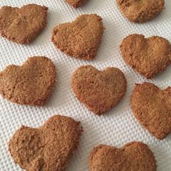 ずぼら/手作り/ダイエットクッキー/フード 余ってたシナモンパウダーときなこ、おから…