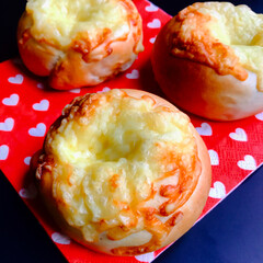 手作りパン #あめ色玉ねぎとベーコンのパン ベーコン…