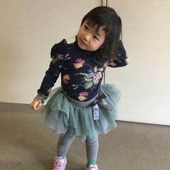子供/子供服/女の子/姉妹/お下がり/韓国子供服/... トップスと、ボトム両方とも長女のお下がり…