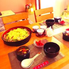 キッチン雑貨/おうちごはん/雑貨/100均/セリア/ダイソー/... ちらし寿司作りました (๑╹ω╹๑ ) …