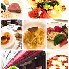 ランチ/ラ テンダ ロッサ/イタリアン/横浜馬車道/おでかけ お友達とランチ☺️ どれも美味しかったで…
