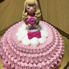 ケーキ/お姫様ケーキ 可愛い
