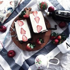 テーブルコーディネイト/食卓風景/クリスマス/スイーツ こちらもイベントに参加させて頂きます♡ …