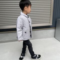 KIDS/outfit/コーデ/コーディネート/ファッション 息子さんもそろそれ秋冬支度 オニューのア…
