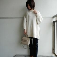 ママコーデ/ファッション 最近saleでgetした 黒デニムパンツ…