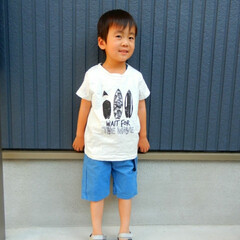 KIDSfashion/KIDS/ファッション 爽やかな夏をイメージした kids fa…