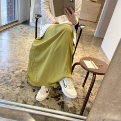ママコーデ/mamacode/mama/ファッション/おすすめアイテム 春らしいカラーfashion❤️ このグ…