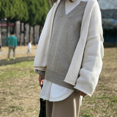 コーデ/コーディネート/ファッション 公園もやっと快適に 過ごせる気候になって…