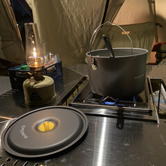 キャンプグッズ/キャンプ用品/キャンプ/おでかけ camp夜のご飯作り🍚 自然でリフレッシ…