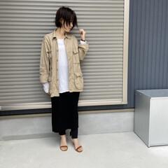 コーディネート/mamacode/mama/春コーデ/ファッション さっそく履いてみたcode❤️❤️ヒール…