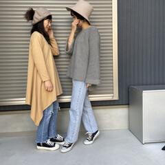 リンクコーデ/ママコーデ/mama/コーディネート/ファッション 娘さんと久しぶりの リンクコーディネート…