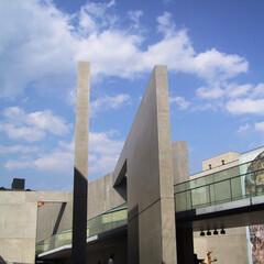 コンクリート打ち放し/安藤忠雄 京都北山にある府立陶板名画の庭です。 設…
