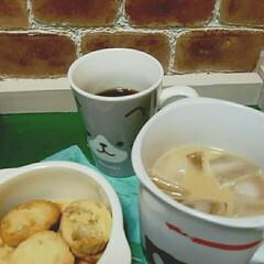手作りお菓子/夜のコーヒータイム 今夜はクルミ入りハチミツクッキー٩(๑❛…
