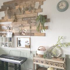 板壁DIY/DIY/インテリア リビングの壁