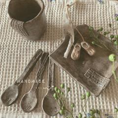 器のある暮らし/おうちで陶芸/オーブン陶土/DIY/雑貨/ハンドメイド おうちでまったりハンドメイド…