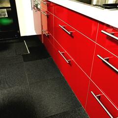 リフォーム/Red IKEA キッチンリフォーム
