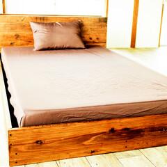 ベッド/DIY マットレスに合わせてベッドを作成!
