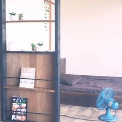 パーテーション/DIY ちょっとした目隠しになるパーテーションを…