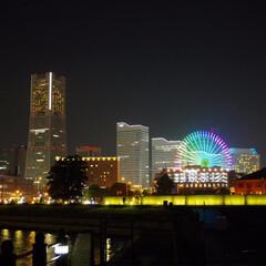 横浜/夜景/みなとみらい 横浜の夜景(みなとみらい)