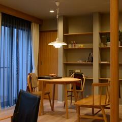 風景のある家/Dining/ダイニング/家/おうち/岡山