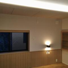 風景のある家/寝室/リノベーション/リフォーム