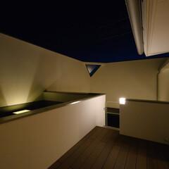 屋上/風景のある家