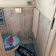 DIY/トイレ/100均/1×4 同じく3FのトイレもDIY 3Fをメイン…