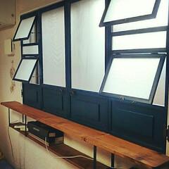 窓/出窓風/内窓/二重窓/DIY/100均/... 我が家のDIY二重窓。