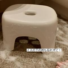 ジョンソン カビキラー本体 400g | JOHNSON(防カビ洗剤)を使ったクチコミ「お風呂のカビ掃除をしました🌟  ゴム手袋…」(5枚目)