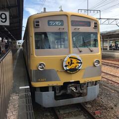 電車/ハロウィン/おでかけ チビ連れて、ハロウィン🎃👻電車に🚃乗って…