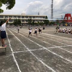 令和元年フォト投稿キャンペーン 令和になっての初めての小学校の運動会。 …(1枚目)