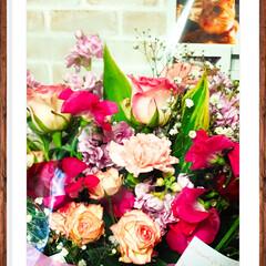 花束/記念日 遅くなりましたが、3月9日は 結婚記念日…