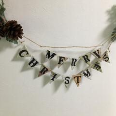 クリスマス/ガーランド/リース/パンプキン/ハロウィン/インテリア/... 玄関のリースをハロウィン👻 に変えました…(3枚目)