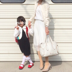 アベイル/入学式コーデ/入学式/UNIQLO/ユニクロ 入学式コーデ😊 ジャケットは娘の入園式に…