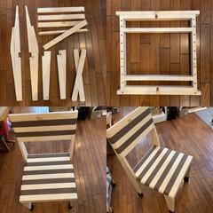 イス/DIY/ハンドメイド 椅子の紹介です。 (Relaxing c…(1枚目)