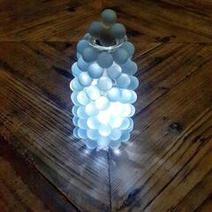 照明/ライト/DIY/雑貨/100均/ダイソー/... オール100均でライトを作ってみました😊