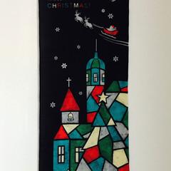 タペストリー/クリスマス/インテリア/住まい クリスマス タペストリー