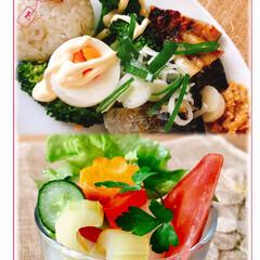 朝ご飯/おうちごはん/フード もう、お昼になりました。 昨日の サッカ…